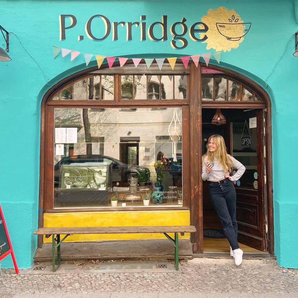 P.Orridge Cafe Berlin Eingang